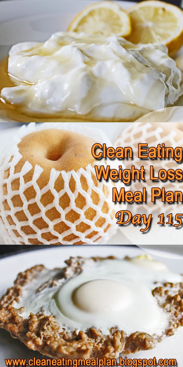 clean eating meal plan 115
