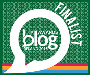 Blog Awards Ireland Finalist!