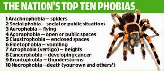 Penyebab Dan Jenis Macam Fobia