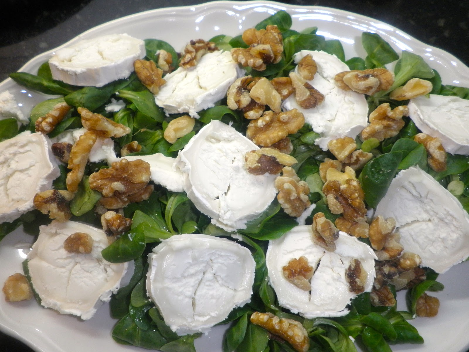Recetas de cocina paso a paso de inma martos ensalada de - Ensaladas con canonigos ...