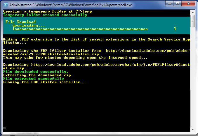 How to download files from the FTP server with PowerShell?