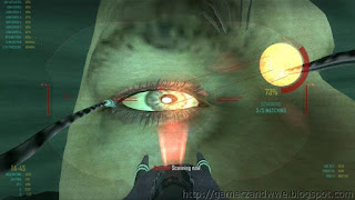 Ziggy scanning the retina in Mission Karma in COD Black ops 2