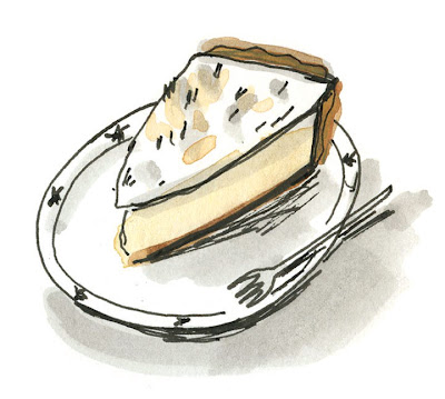 Pie Illustration by Elizabeth Graeber from Pie: A Hand Drawn Almanac