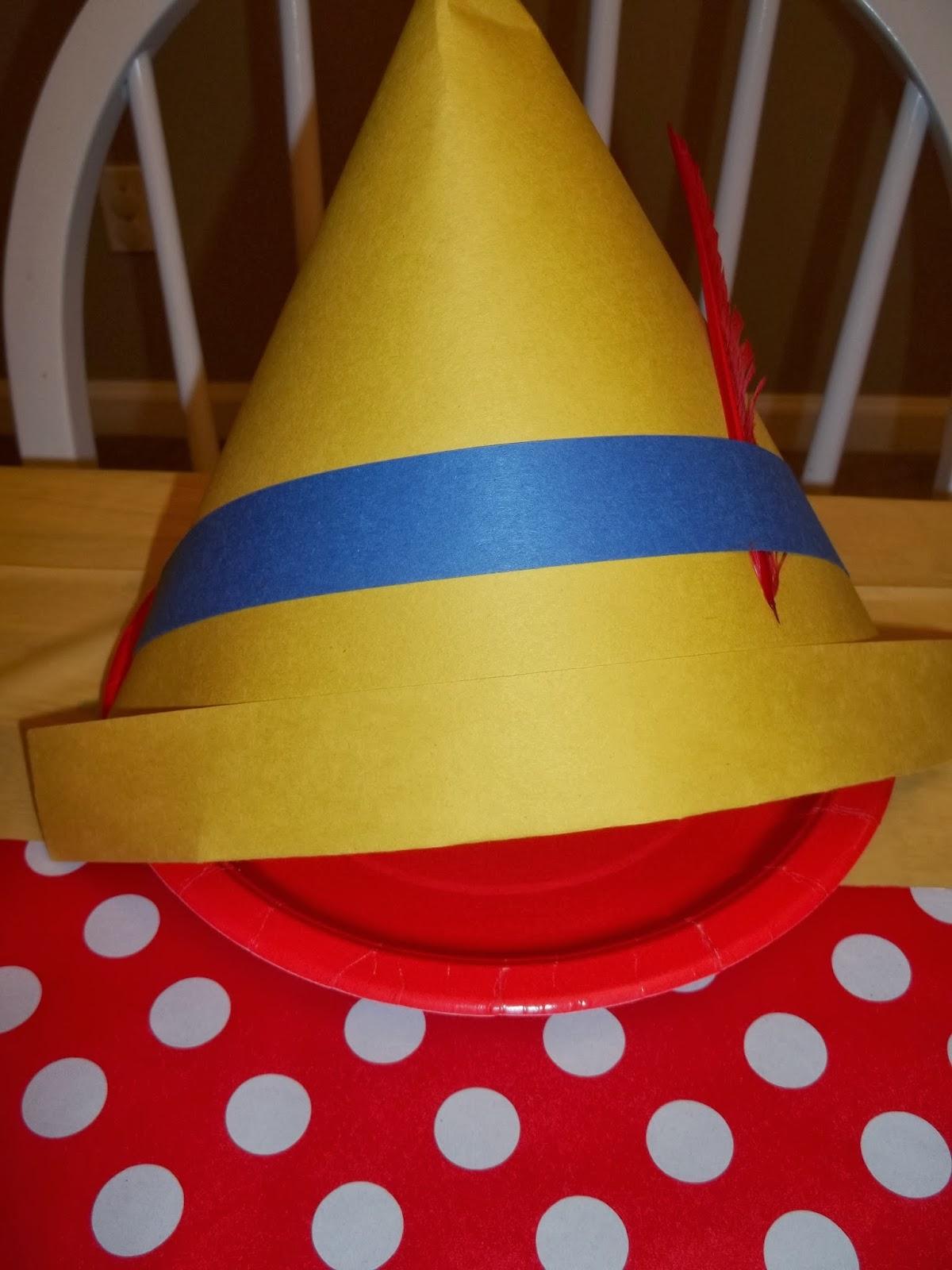 Pinocchio Hat Template Costumepartyrun