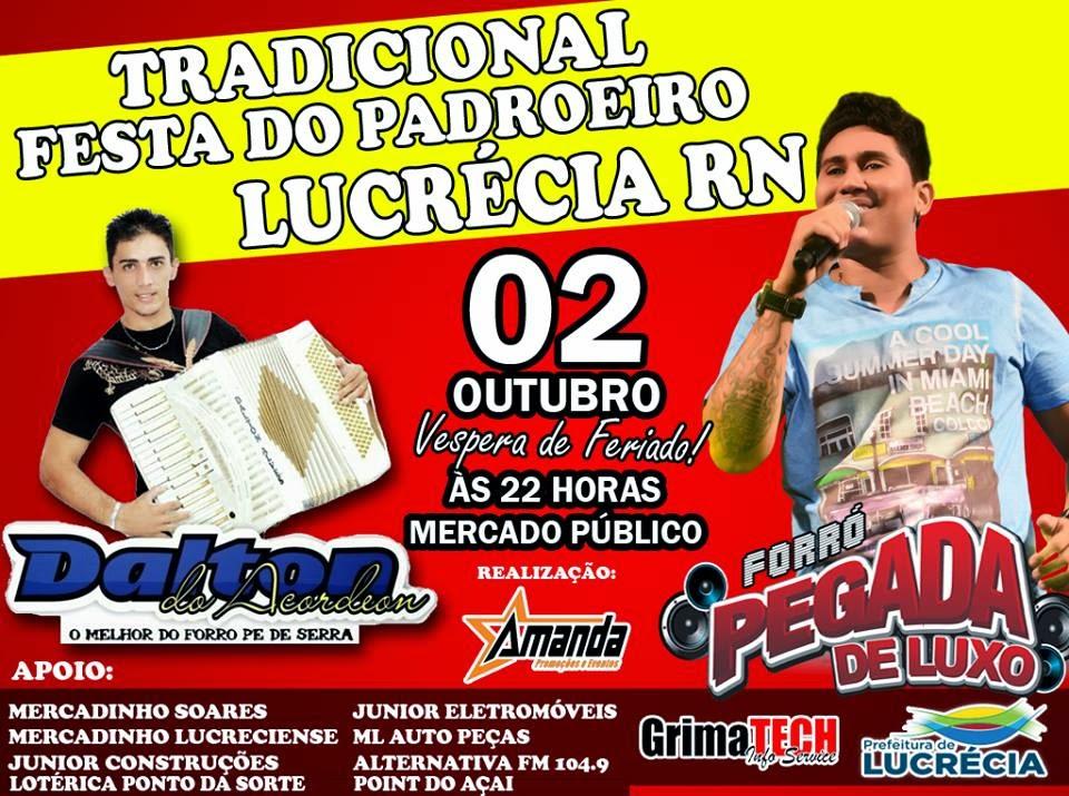 Lucrécia RN Festa Padroeira 2014
