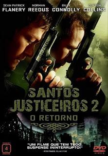 Download Santos Justiceiros II O Retorno BDRip AVI + RMVB Dublado Baixar Filme