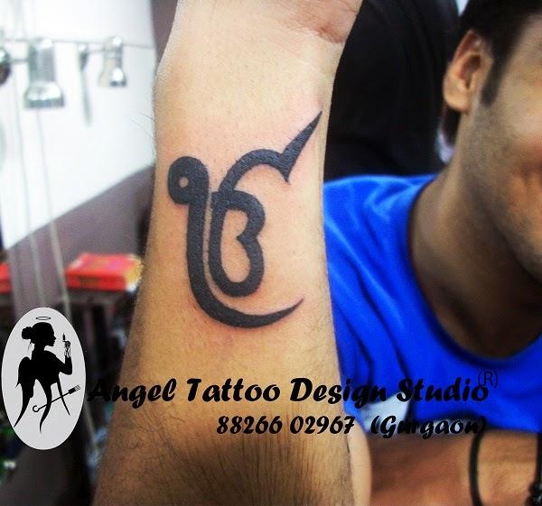 Ek Onkar Tattoo on Wrist, Sikh Tattoo Designs, Ek onkra tattoo designs