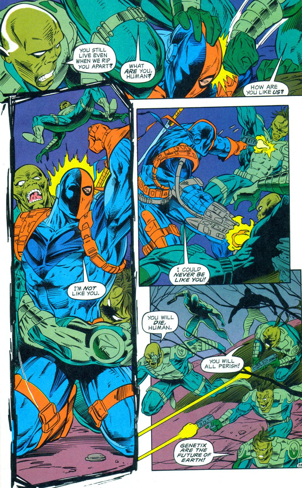 Deathstroke (1991) Annual 3 #3 - English 29