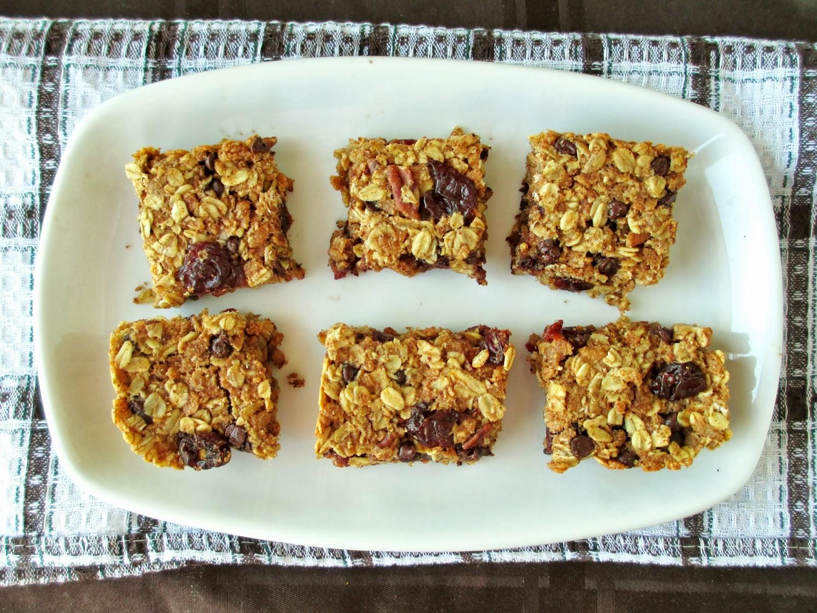 Chewy Vanilla Spice Fruit Squares Recipe — Dishmaps