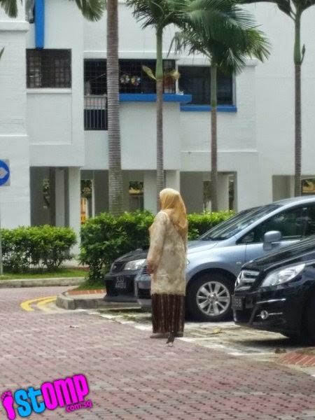 GAMBAR Pemandu Bengang Makcik Chop Tempat Parking
