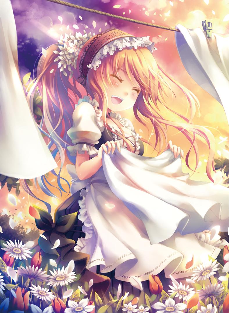 Cute anime girl good topic