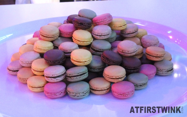 mountain of macarons