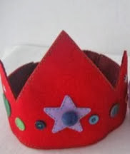 http://portaldemanualidades.blogspot.com.es/2013/06/coronitas-hechas-de-fieltro-para-los.html