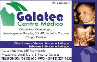 CENTRO MEDICO GALATEA, C.A. en Paginas Amarillas tu guia Comercial