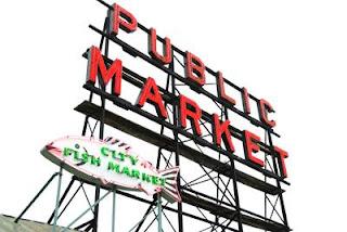 Pikes Market Spooky Seattle