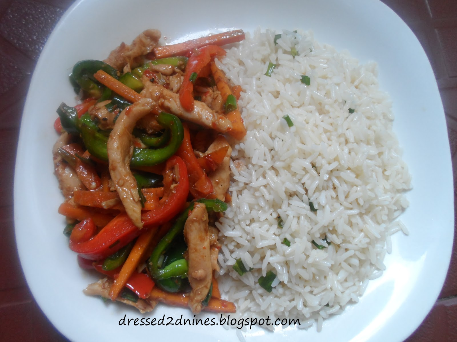 Dressed food i love fried rice with stir fried chicken and i like to make this meal when i have left over rice surprisingly the result of this rice has been consistently better when leftover rice is used ccuart Choice Image