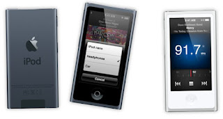 Apple's New iPod Nano with Radio and Bluetooth