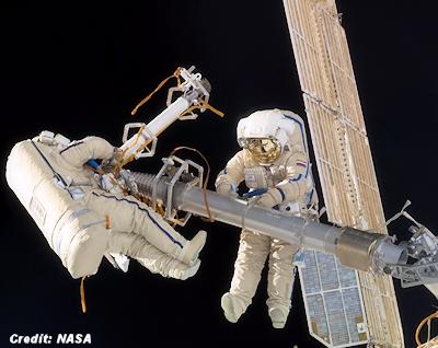 ISS Crew Dodges Space Debris (Again)