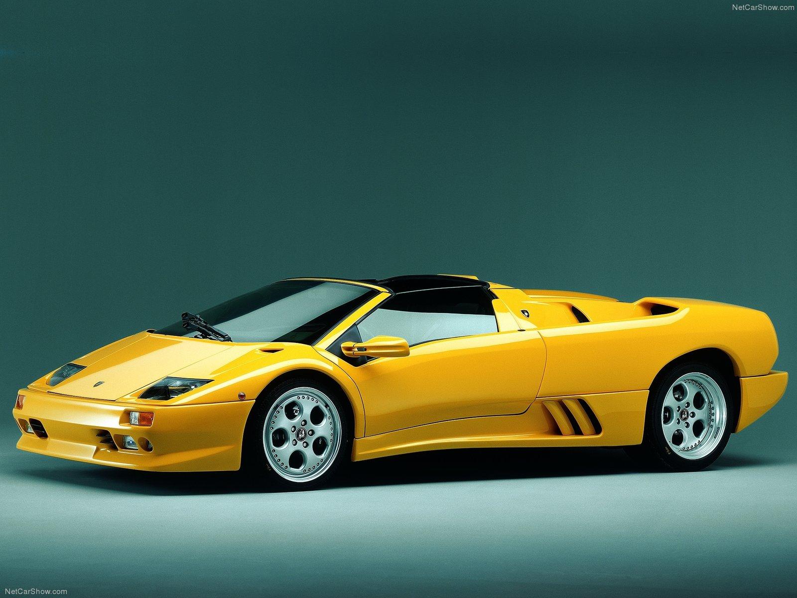 Hình ảnh siêu xe Lamborghini Diablo Roadster 1996 & nội ngoại thất