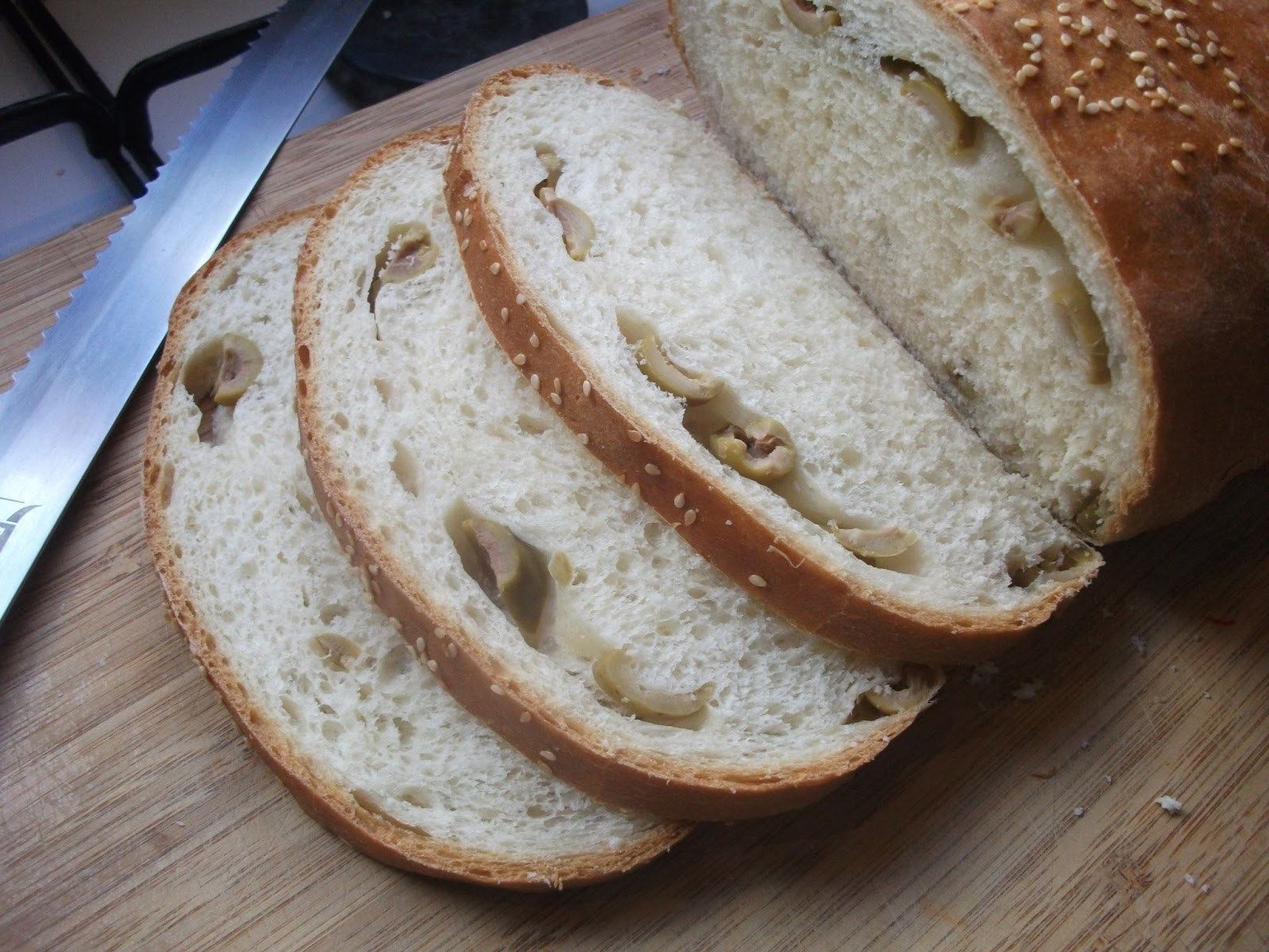 BreadMan Talking: Second Home - Mediterranean Olive Bread