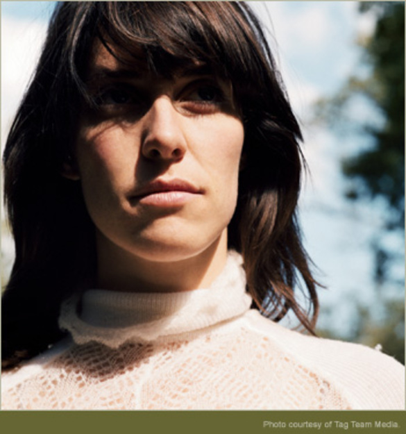 some photos of rock star Leslie Feist (She is simply known as Feist