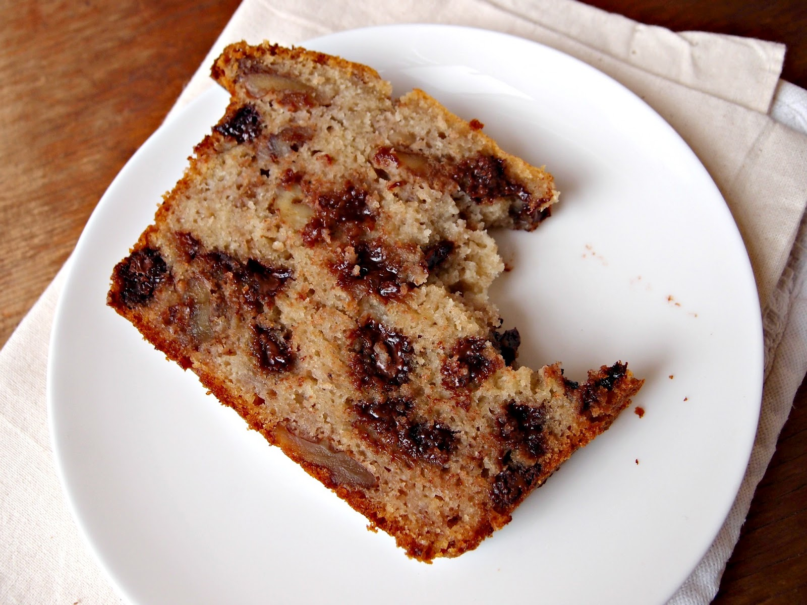 Milk and Honey: Bourbon-Spiked Banana Bread