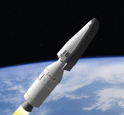 Suburban spaceman: ESA Vega Rocket: Re-entry Shuttle ...