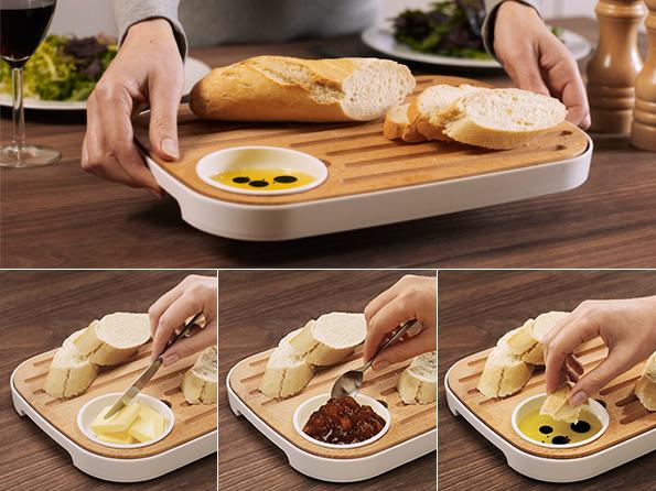 Morph slice serve bread cheese board by morph for for Accessori cucina design on line