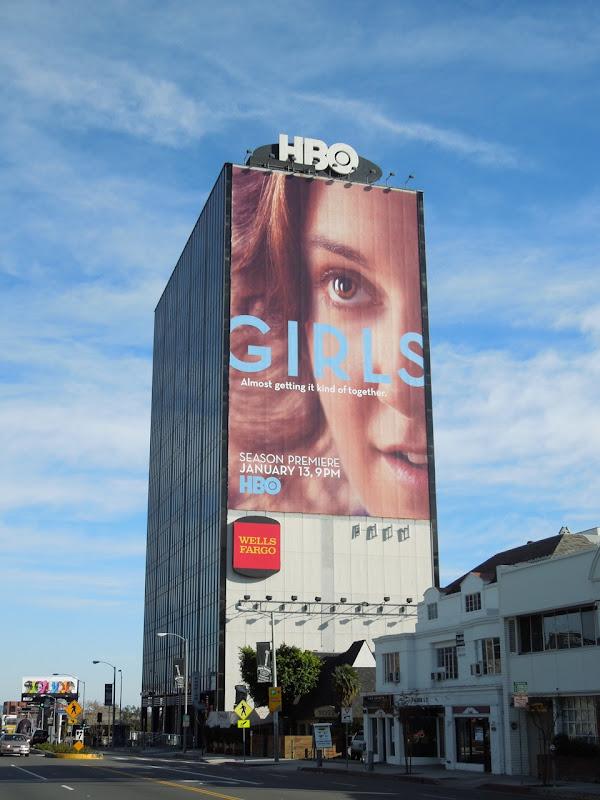 Giant Girls season 2 billboard Sunset Strip