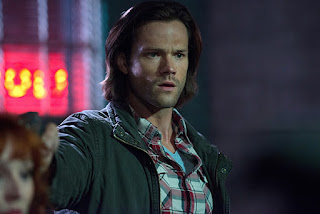 "Jared Padalecki as Sam Winchester in Supernatural 11x03 ""The Bad Seed"""