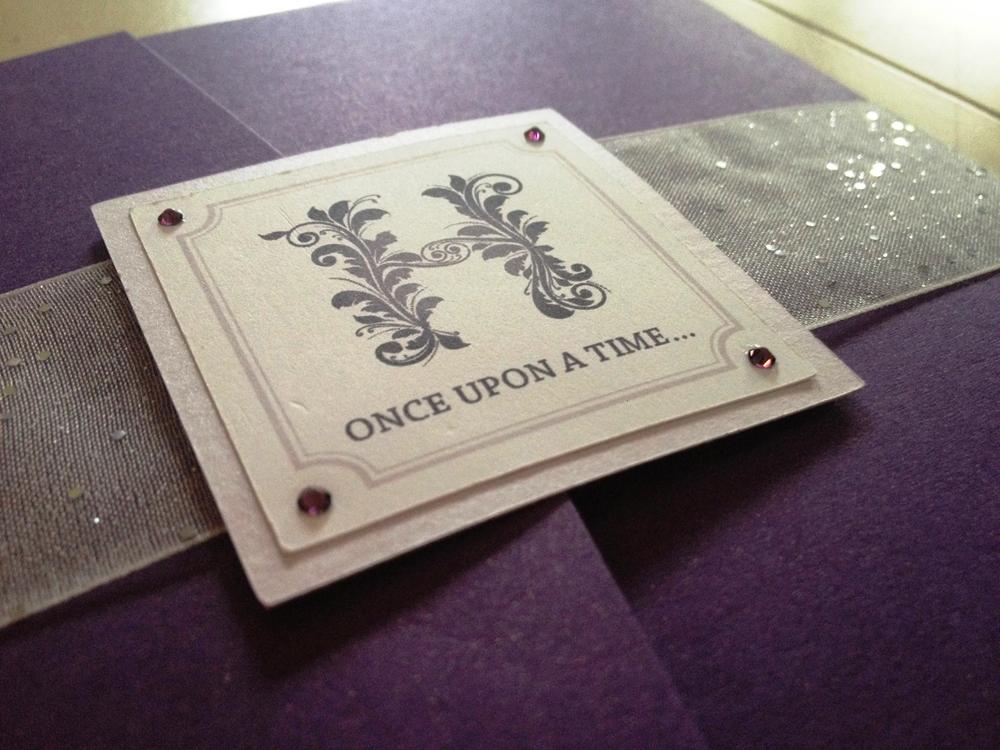 DIY Fairy Tale Wedding Invitations - This Fairy Tale Life