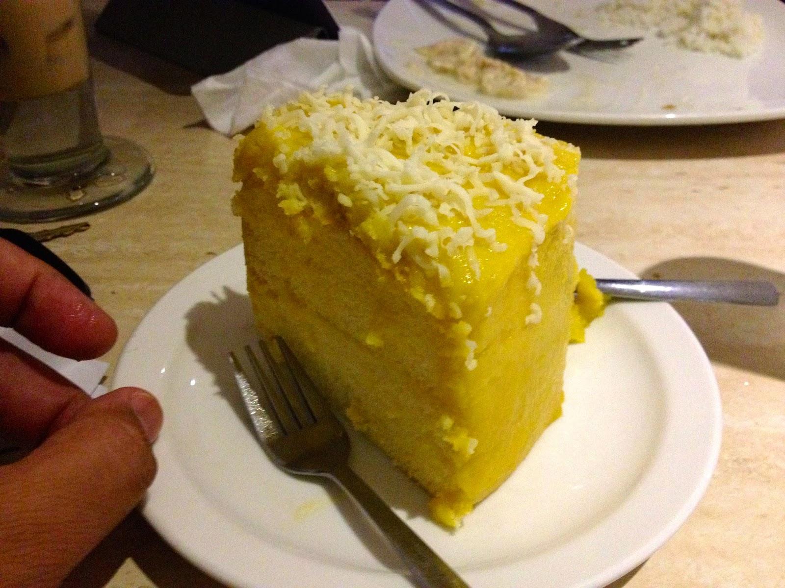 Cambia Street Cafe and Resto Cebu dessert