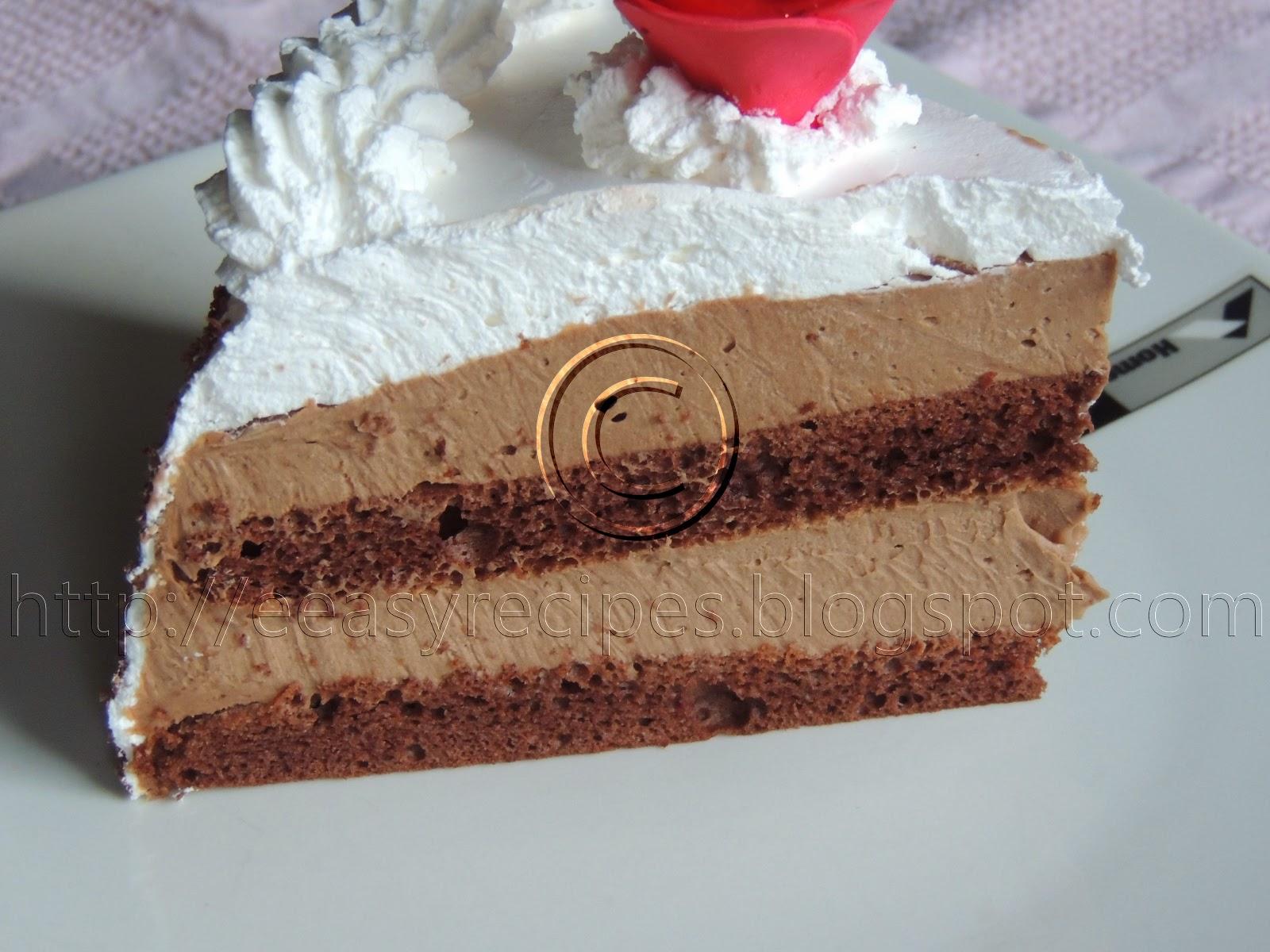 Torta sacokoladom