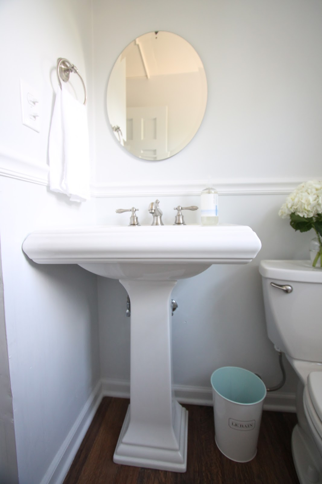 Diy bathroom remodel julie blanner for Bathroom designs 6 x 4