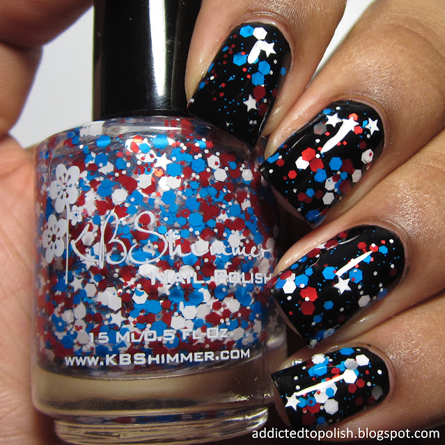 kbshimmer wave the flag summer 2015