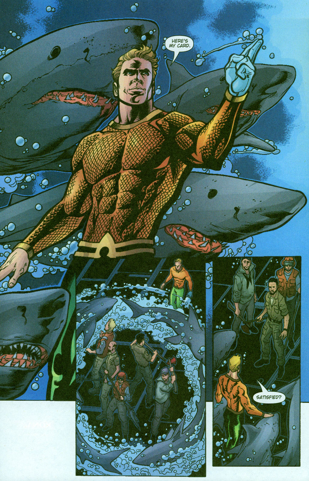 Aquaman (2003) Issue #23 #23 - English 15
