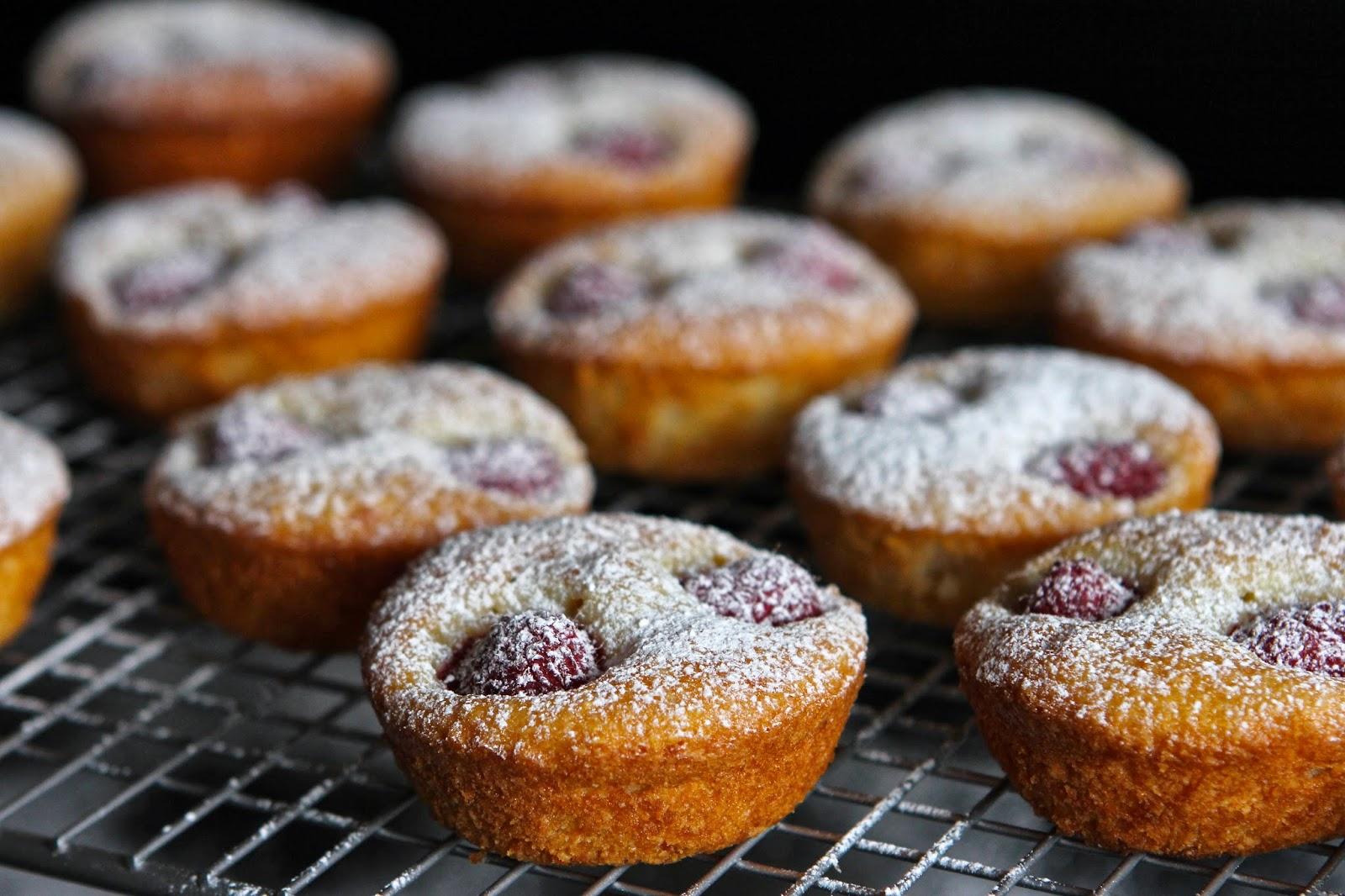 Gluten Free Alchemist: Orange & Raspberry Friands (gluten free ...