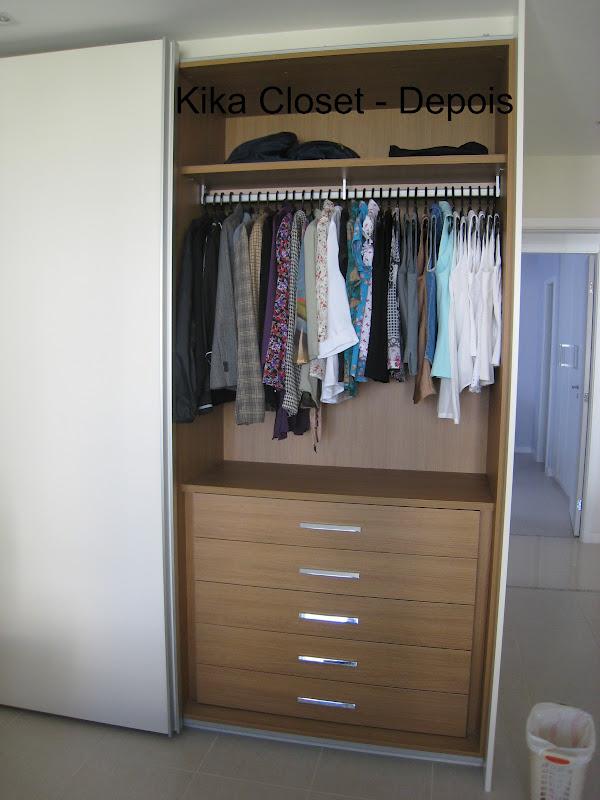 Armario De Banheiro Planejado ~ Kika Closet Armário Feminino