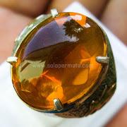 Cincin Batu Permata Fire Opal - SP743