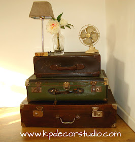Kp decor studio diciembre 2012 for Maletas antiguas online