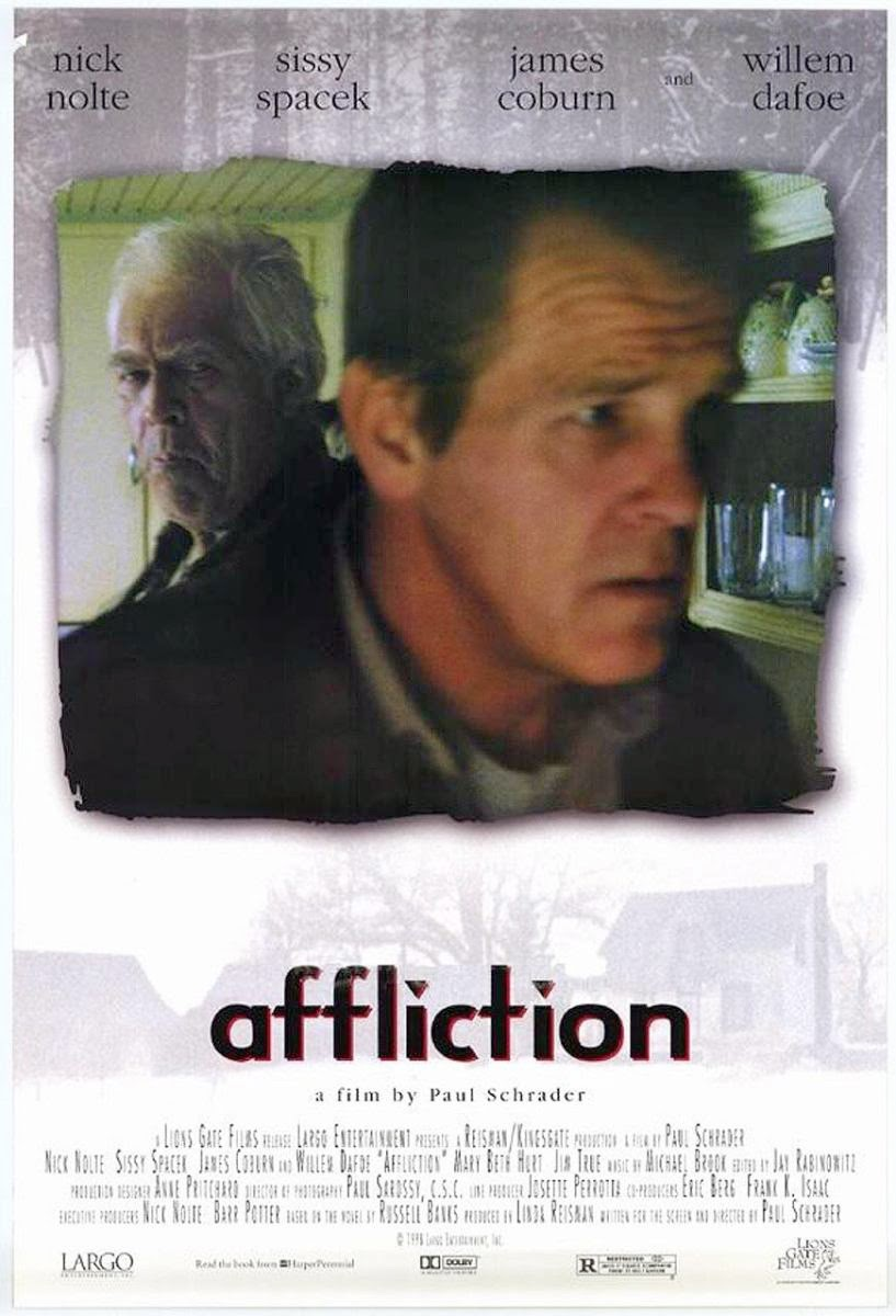 an analysis of the movie affliction The killers all seem to suffer from the same zombie-like symptoms — they appear crazed and inhuman and are trying to eat the flesh of the living — as well as a skin rash and boils local town gossip fingers a newcomer as being somehow responsible for causing the affliction, a mysterious japanese man.