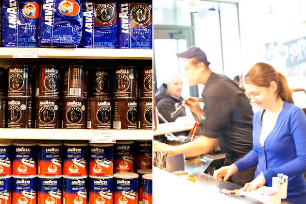 caffè lavazza at eataly