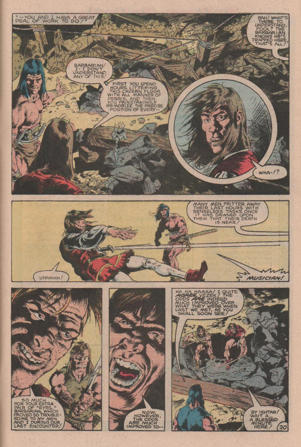 Conan the Barbarian (1970) Issue #160 #172 - English 21