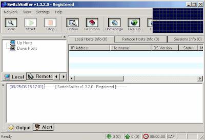 برنامج سحب سرعة النت من الروتر Download SwitchSniffer لتسريع النت و التحكم في الشبكة