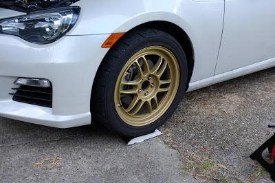 Subaru BRZ Enkei Rims
