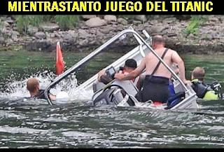 mientras juego titanic