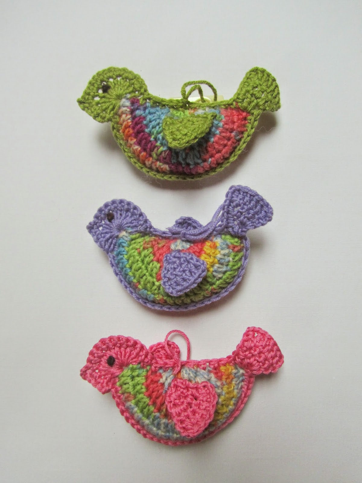 fairislerona: Crochet Birds for Easter