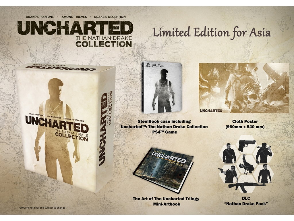 Uncharted: The Nathan Drake Collection Limited Edition