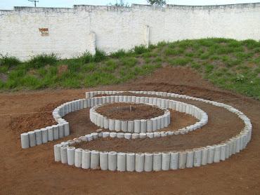 Construção da horta