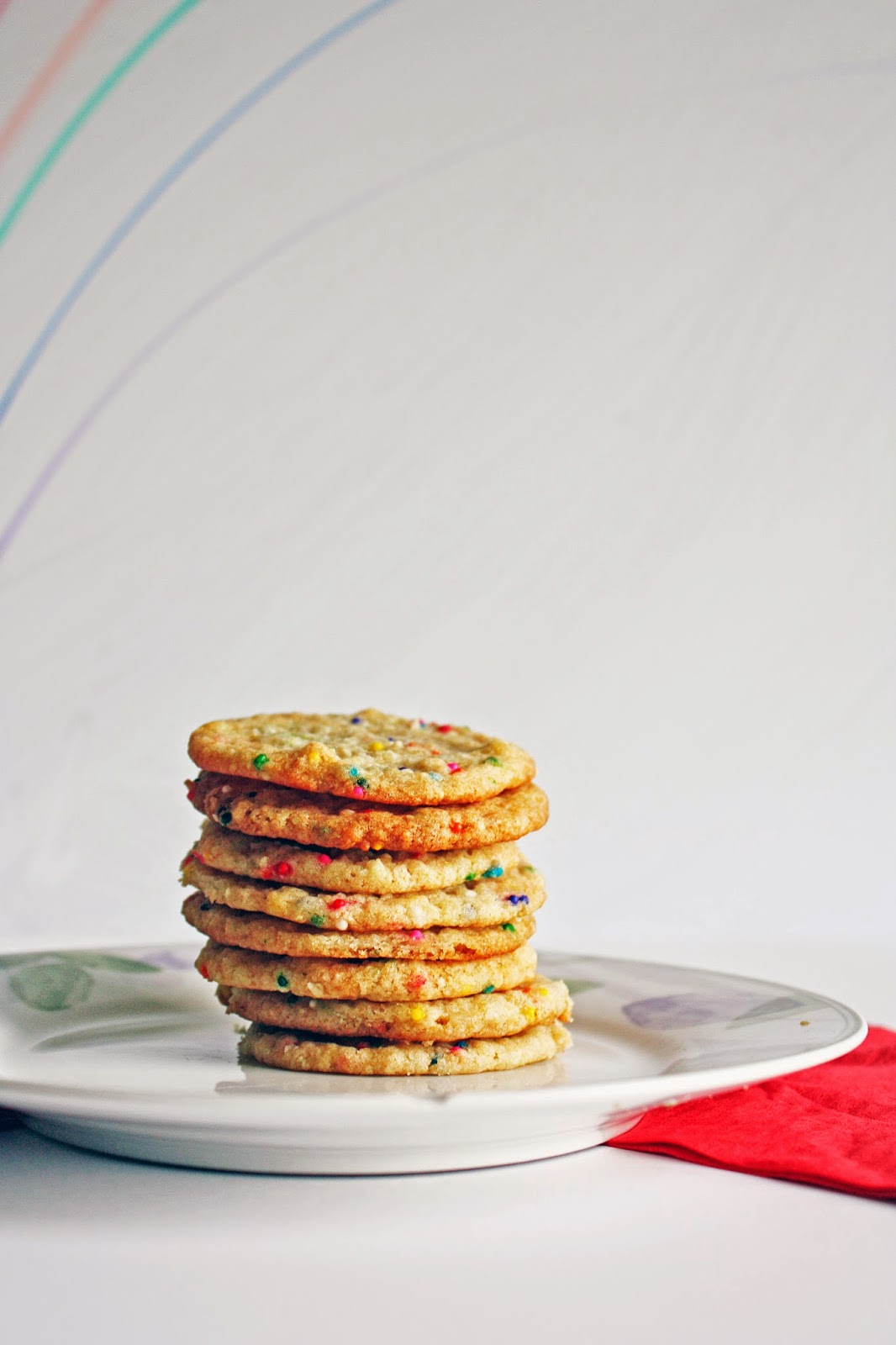 momofuku inspired vegan confetti cookies